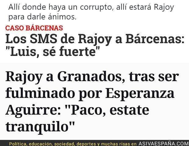 82873 - Rajoy siempre aliado con los corruptos