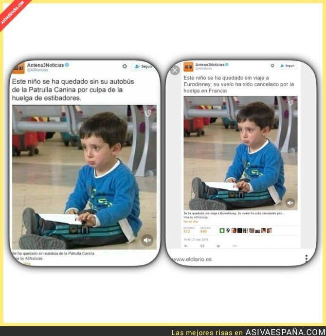 82893 - El niño con más mala suerte del Mundo