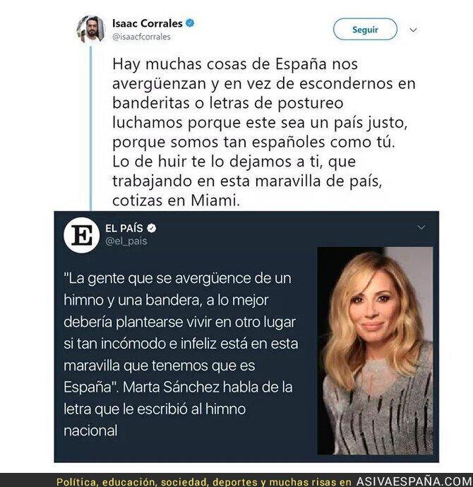 83081 - Callándole la boca a la patriota Marta Sánchez
