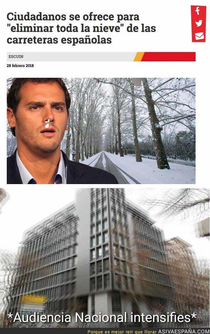 83388 - 'El Jueves' informando sobre el temporal de nieve