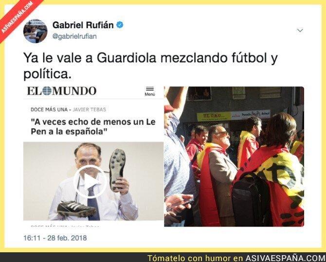 83423 - Guardiola siempre liándola, ah no...