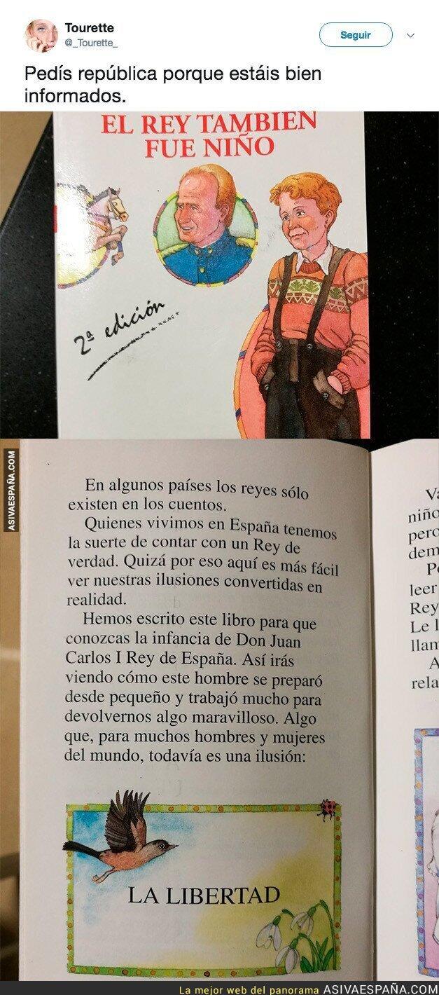 83566 - El polémico libro sobre el Rey para adoctrinar niños a favor de la monarquía española