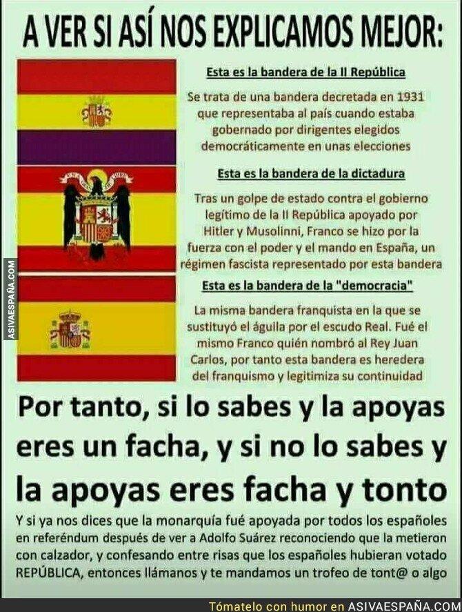 83568 - Explicación de las banderas de España
