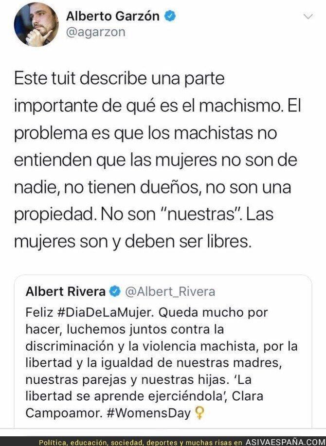 83862 - La respuesta de Alberto Garzón al