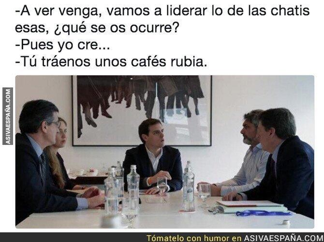 84156 - Mientras tanto, en una reunión de Ciudadanos...
