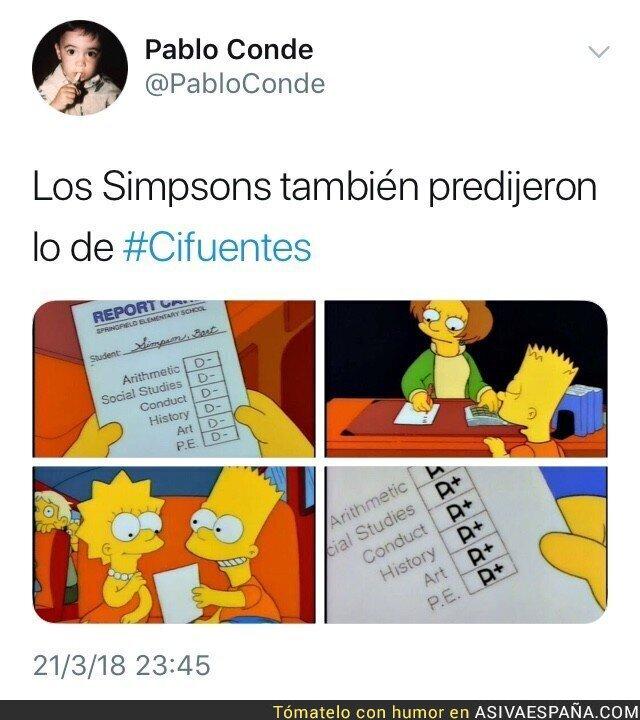 84557 - Los Simpsons ya predijeron lo de Cifuentes