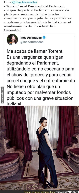 84577 - Inés Arrimadas y su show en el Parlament