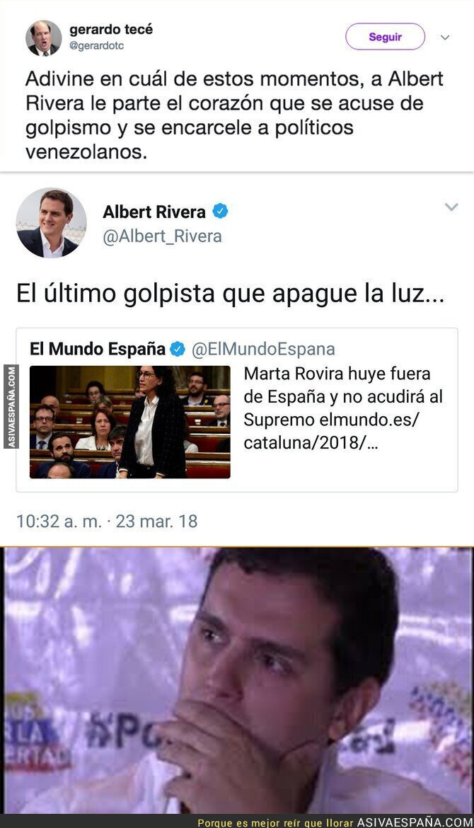 84625 - La doble cara de Albert Rivera