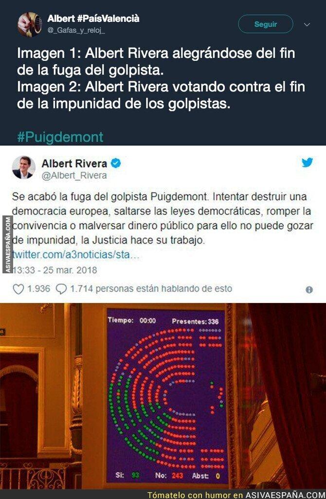 84668 - Albert Rivera, de nuevo el hipócrita de manual