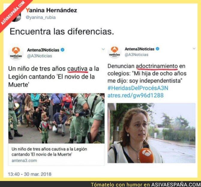 84917 - Así informa Antena 3 depende si es un niño catalán o un niño español