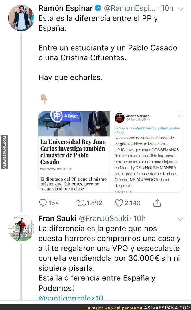 85406 - Ramón Espinar no está para dar lecciones a nadie