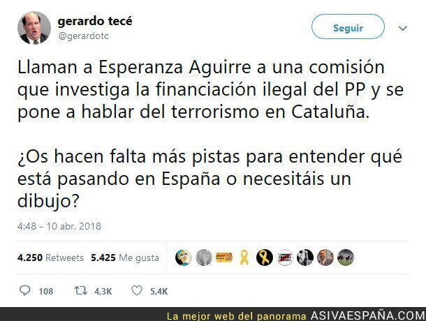 85412 - Desobediencia civil no es terrorirsmo.