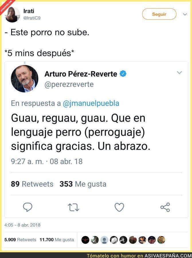 85424 - Mientras tanto, Arturo Pérez Reverte...