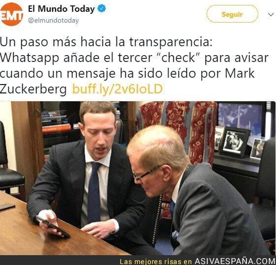 85541 - Zuckerberg controlando tu información y datos personales.