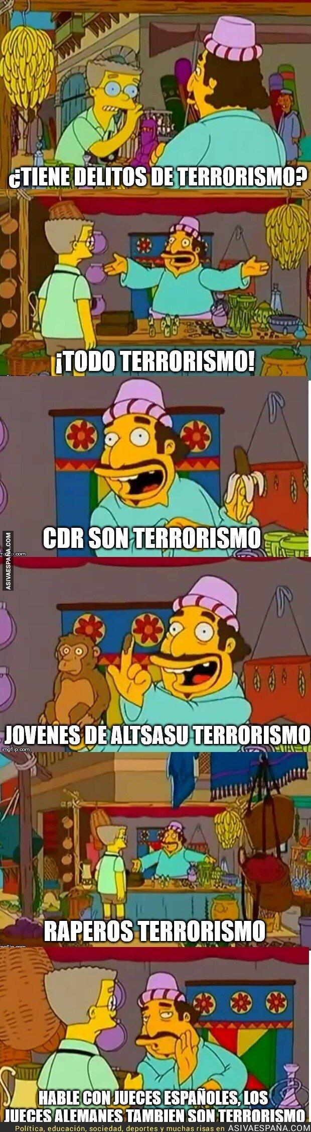 85592 - ¡Todo terrorismo!