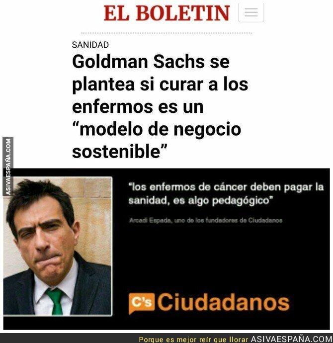 85641 - Esas políticas de Goldman Sachs me suenan