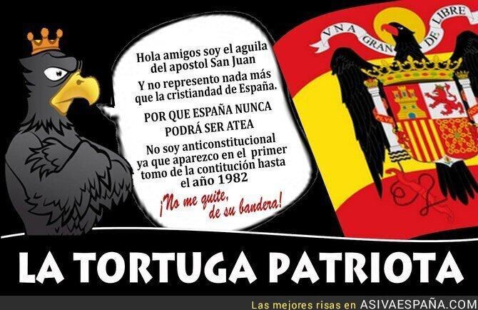 85673 - El águila de San Juan nos enseña como porque no es anticonstitucional