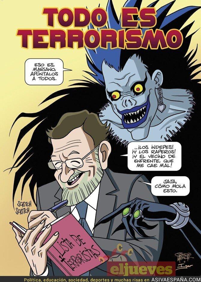 85763 - El terrorismo de M. Rajoy