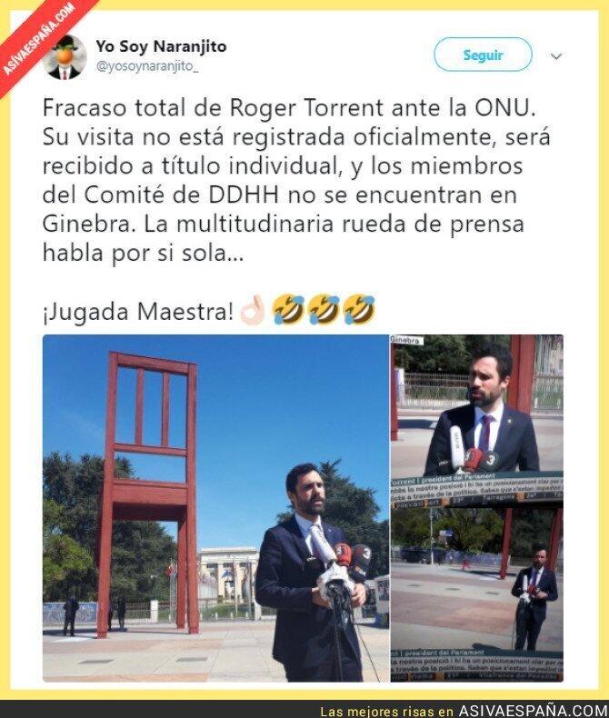 85773 - La soledad de Roger Torrent