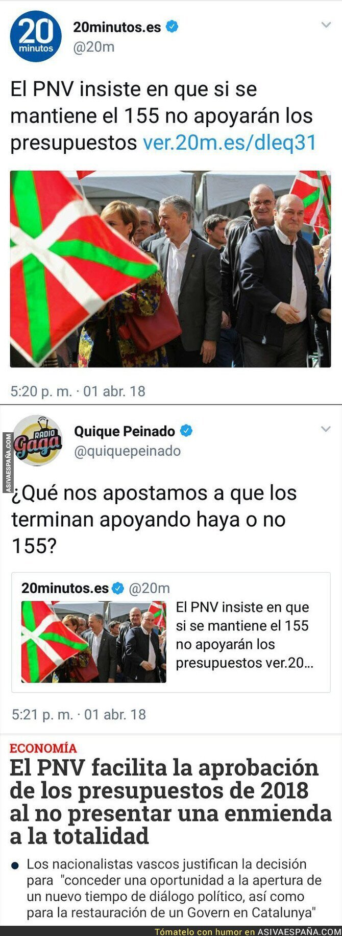 85788 - El doble rasero del PNV
