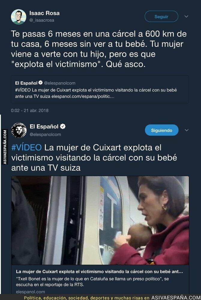85812 - El repugnante titular de 'El Español' sobre la mujer de Cuixart que está indignando a todo el mundo