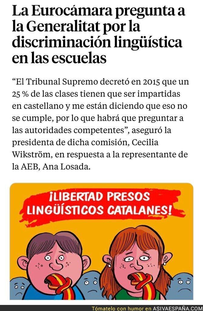 86042 - Apartheid lingüístico en España