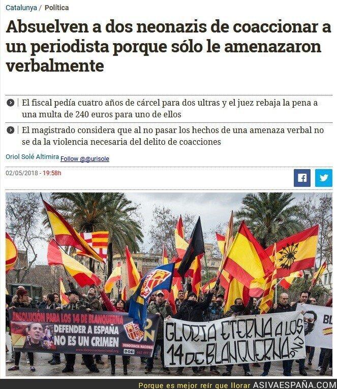 86269 - Pero que barato sale ser neonazi en España