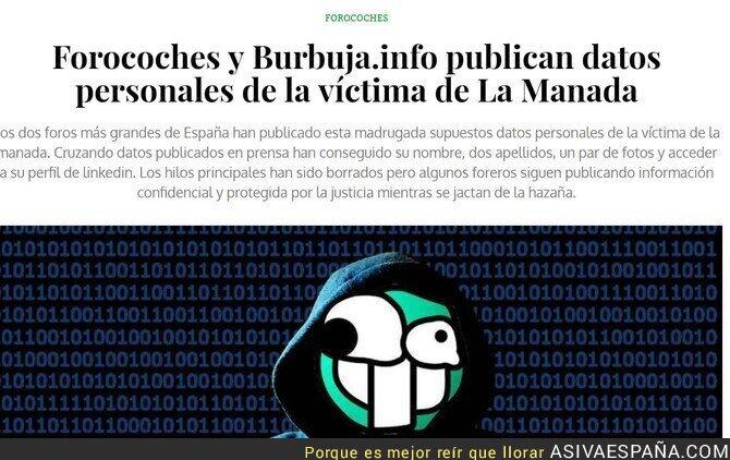 86314 - La manada digital continúa el trabajo de los 5 violadores