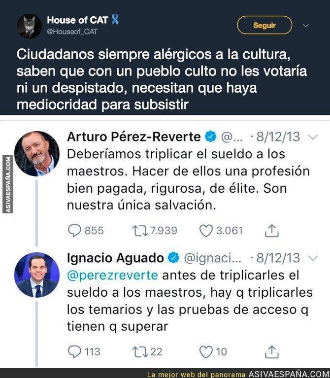 86397 - Así opinaba Ignacio Aguado (Ciudadanos) sobre los maestros en 2013 y que no quiere que leas
