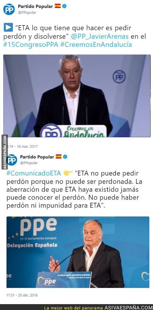 86447 - El Partido Popular no quiere que termine ETA y estas declaraciones lo confirman