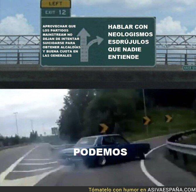 86457 - La curiosa táctica de Podemos