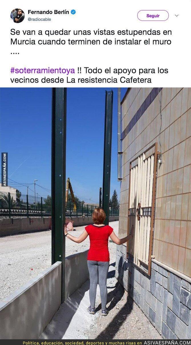 86559 - El drama que van a vivir en Murcia con el muro