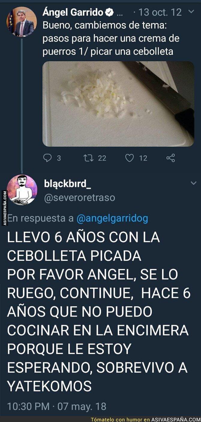 86561 - Ángel Garrido nos tiene en vilo desde hace seis años