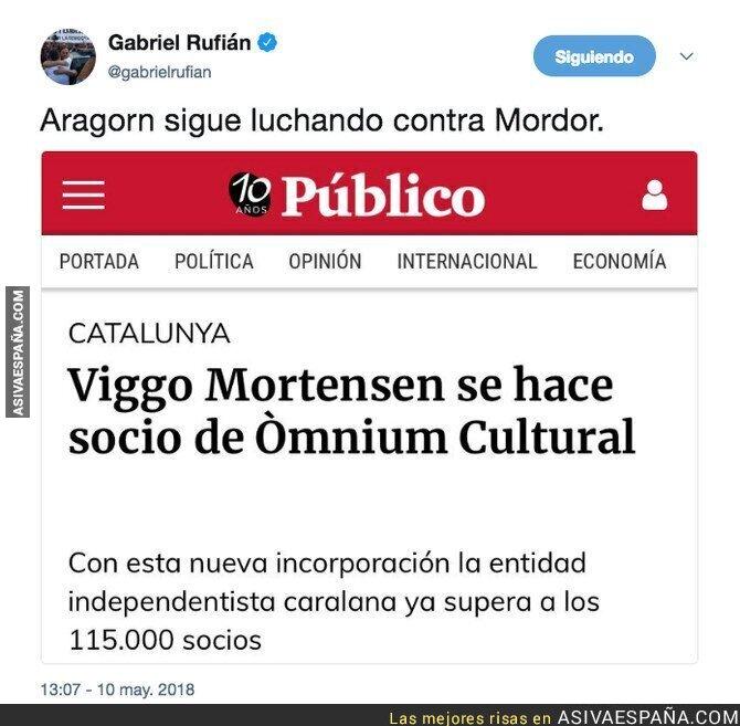 86623 - Viggo Mortensen se ha ganado tener el odio de todos los fachas españoles