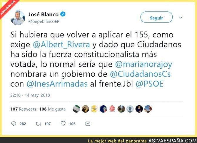86851 - Líderes del PSOE que cuando no les gusta lo que sale, piden saltarse la democracia