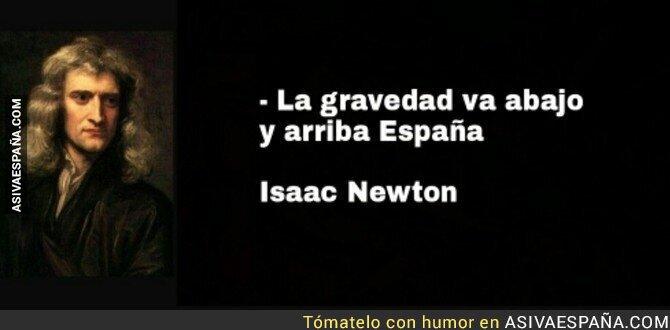 86868 - Ya lo decía el gran Isaac Newton