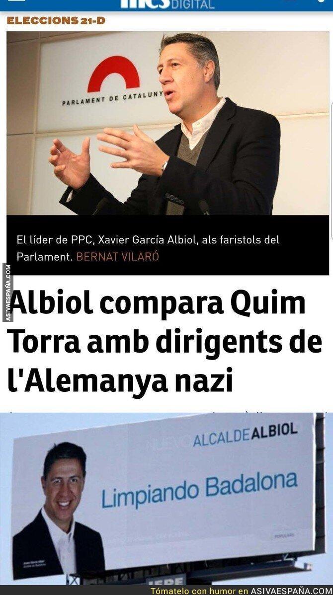 87003 - Xavier García Albiol no está para hablar de supremacismo