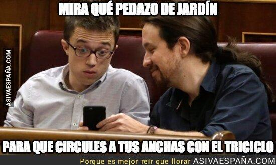 87011 - Íñigo Errejón está encantado con la casa de Pablo