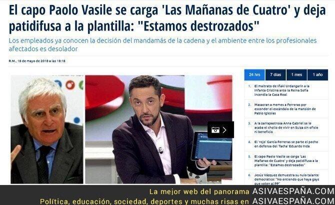 87067 - Cuatro cancela 'Las Mañanas de Cuatro'