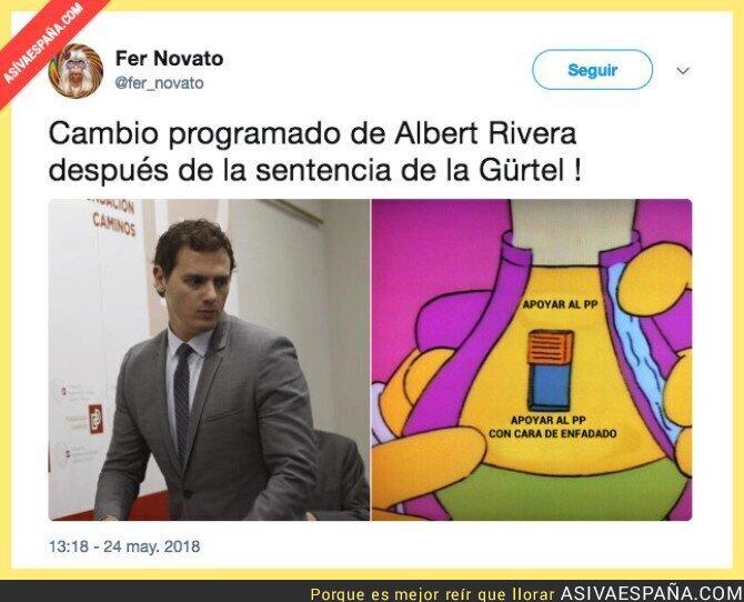 87327 - Albert Rivera se pone muy serio tras la sentencia de la Gürtel