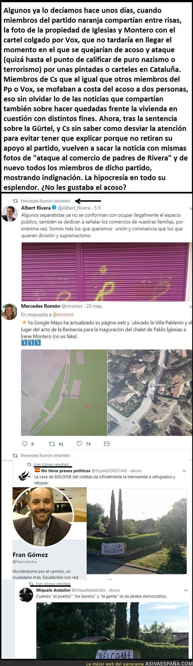 87355 - Cuando el acoso es hacia Podemos, todo risas, cuando les toca a ellos, SUPREMACISMO