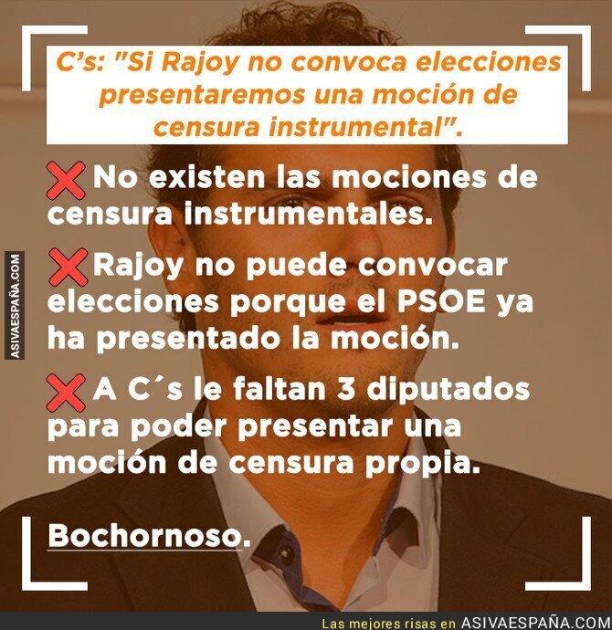 87397 - Ciudadanos no sabe lo que es una moción de censura