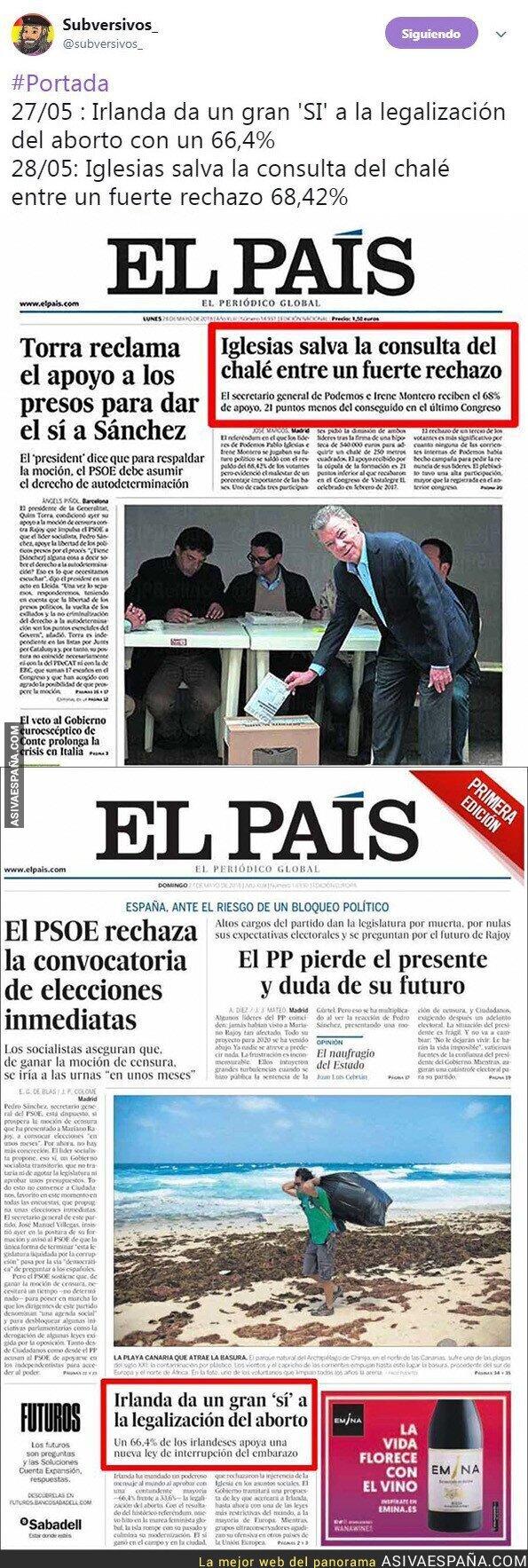 87469 - La prensa objetiva de El País