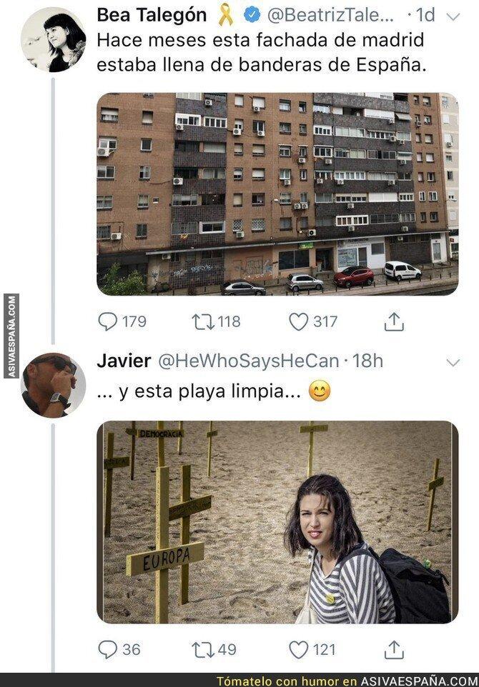 87557 - Beatriz Talegón experta en quedar mal  tras escribir algo en Twitter