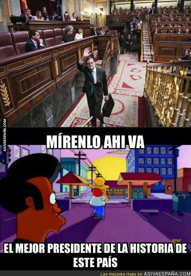 87647 - Hasta la vista M. Rajoy el que nos sacó de la crisis