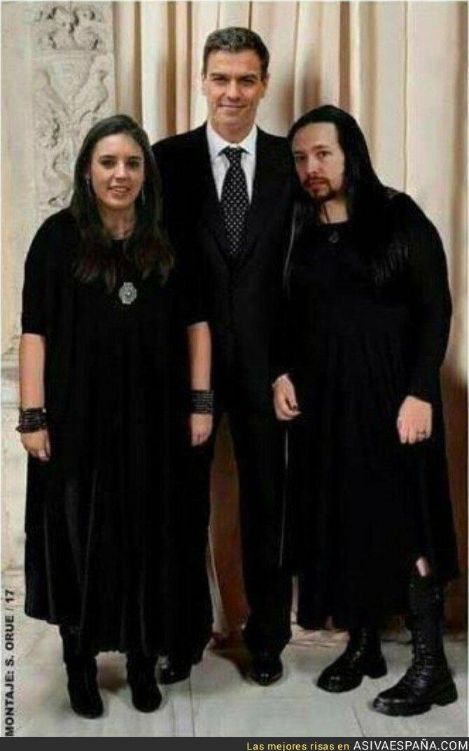 87812 - Se filtran las imágenes de Pedro Sánchez con sus hijas