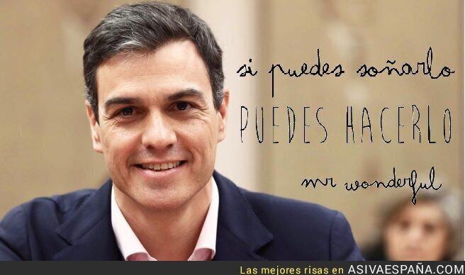 87865 - Pedro Sánchez, la nueva imagen de Mr. Wonderful