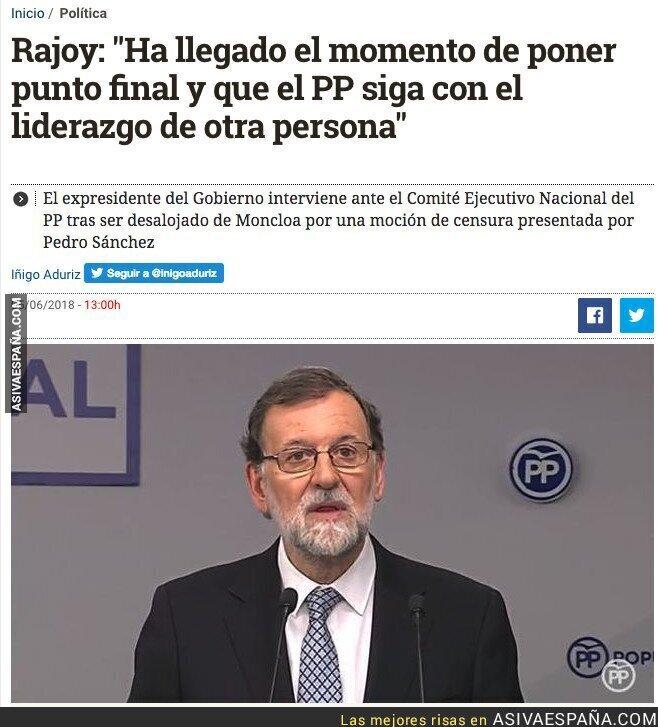 87937 - Se acabó la era de Rajoy