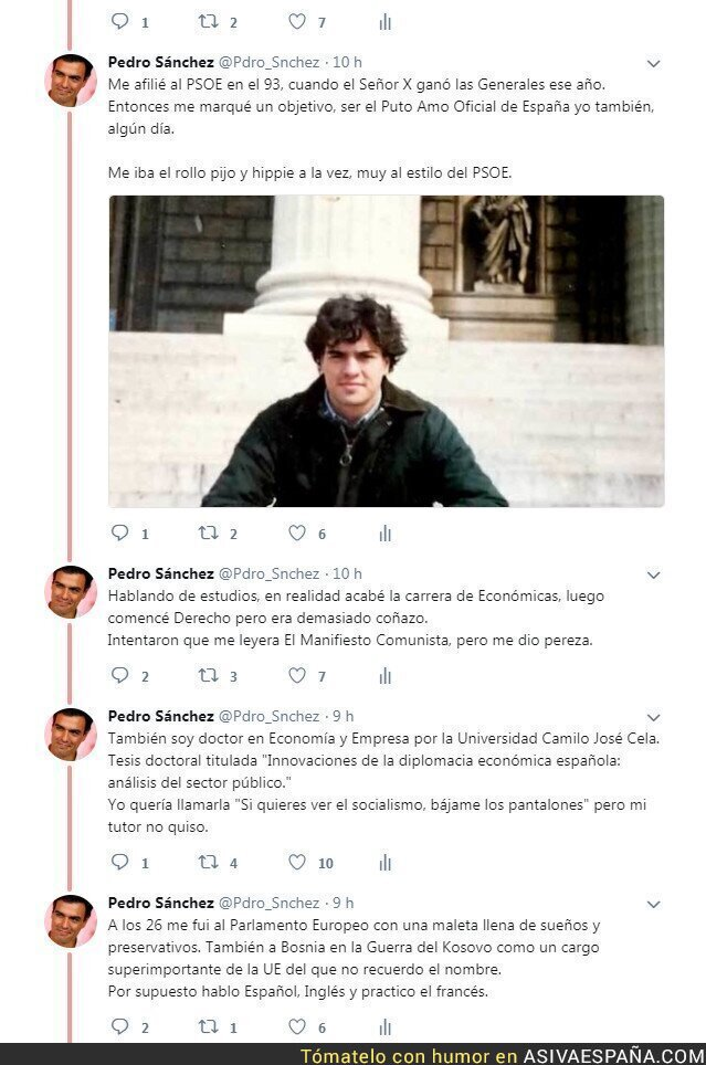 87972 - Pedro Sanchez. La Historia del presidente.- Primera Parte