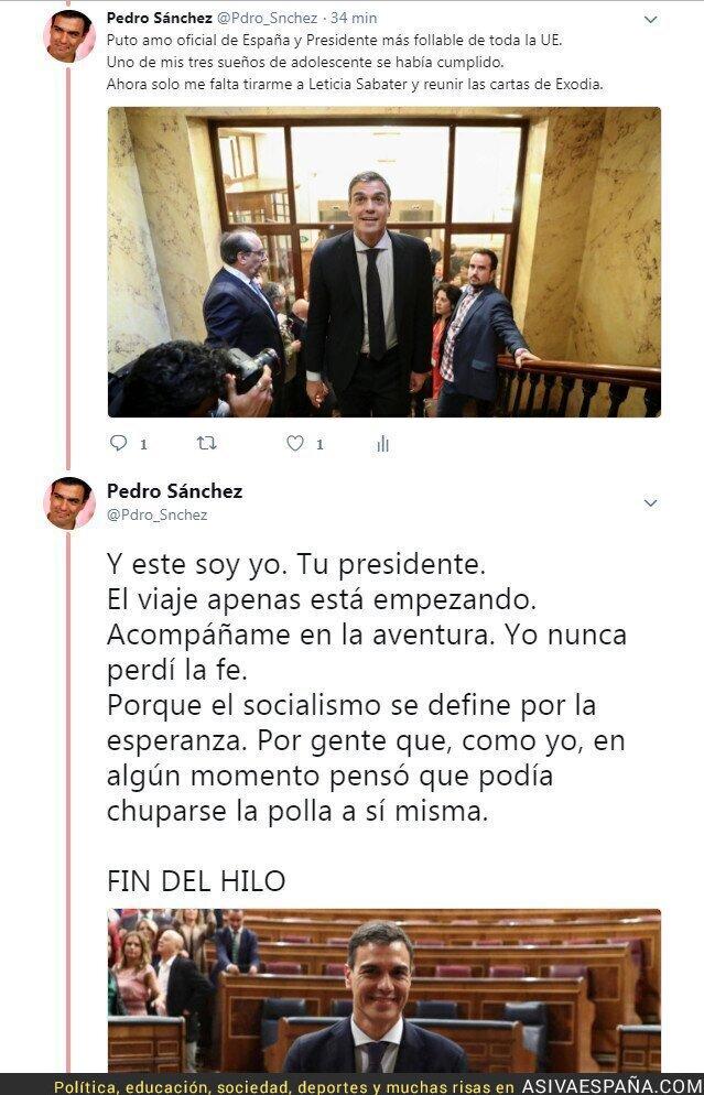 87974 - Pedro Sánchez. La Historia del presidente.- Segunda Parte